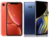 Test brzine Apple iPhone Xr protiv Samsung Galaxy Note9