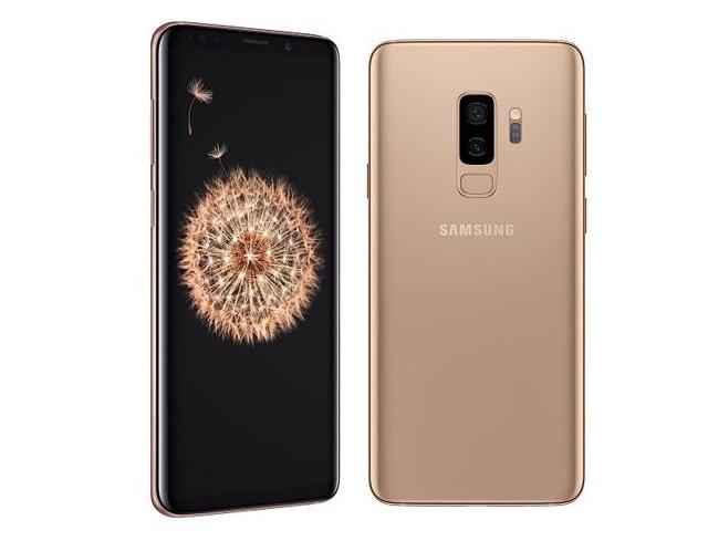 Samsung Galaxy S9 i S9+ Sunrise Gold