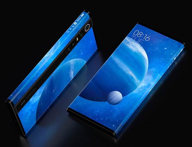 Xiaomi Mi Mix Alpha telefon sa ekranom sa svih strana